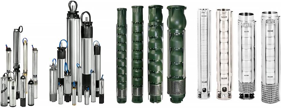 Скважинные насосы для систем водоснабжения